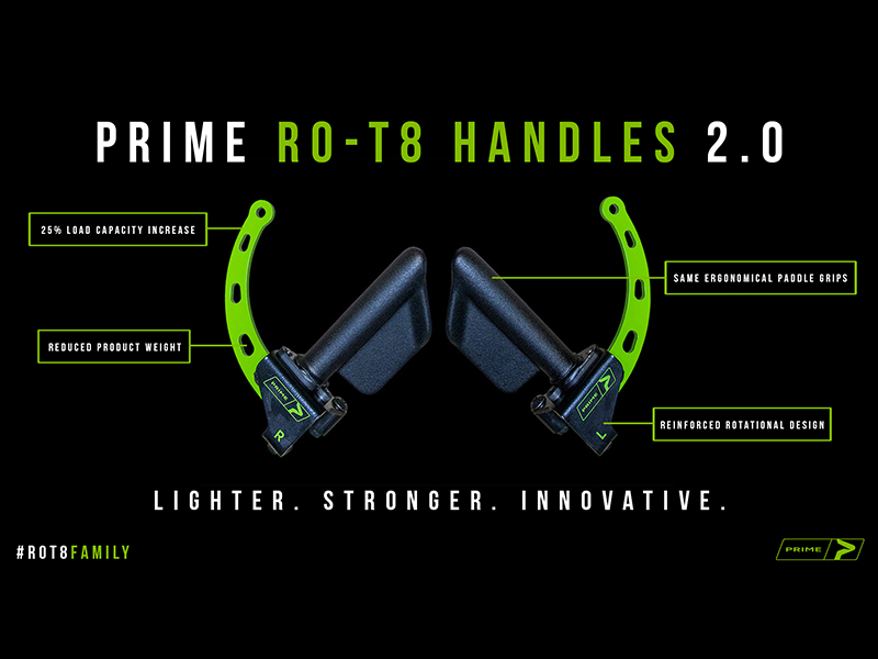 PRIME Launches RO-T8 2.0 Handles