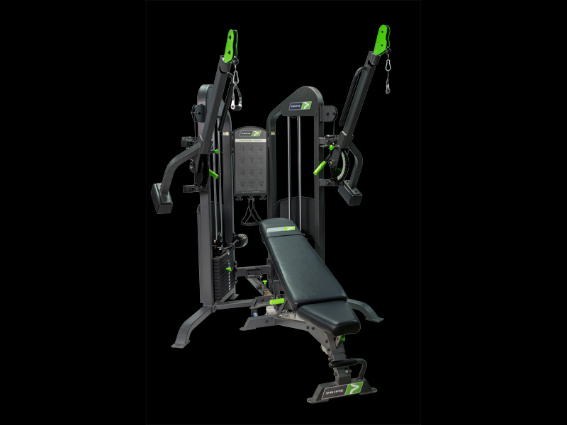 Functional Trainer With Bench