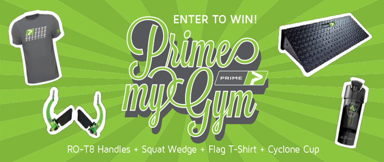 Enter To WIN: PRIME My Gym Facebook Contest