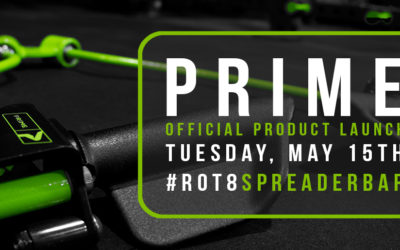 PRIME Fitness Product Launch: RO-T8 Spreader Bar