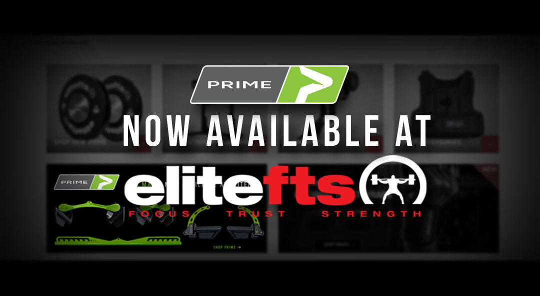 PRIME Fitness Accessories Now Available at elitefts.com
